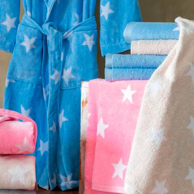 Batas y mantas de tejido polar en Comercial Salo