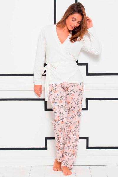Pijama largo para señoras