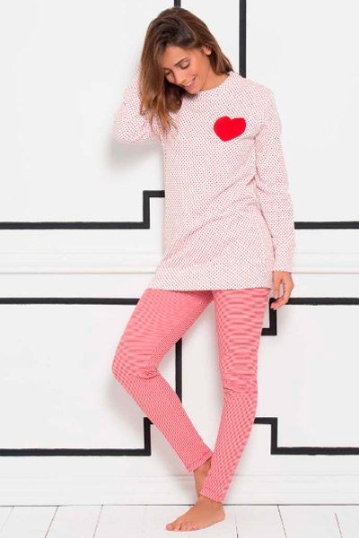 Pijama para mujer con leggings