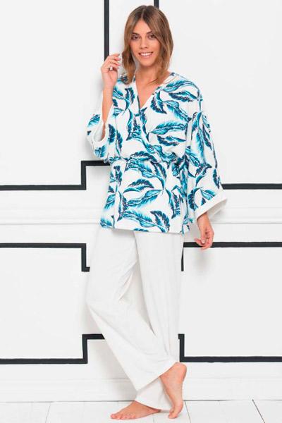 Pijama para mujer estilo kimono