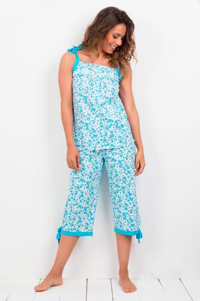 Pijama mujer pantalón pirata